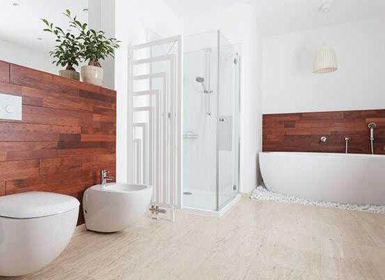 baños de madera - maderas tropicales - estilo nórdico escandinavo - almacén de maderas valencia majofesa