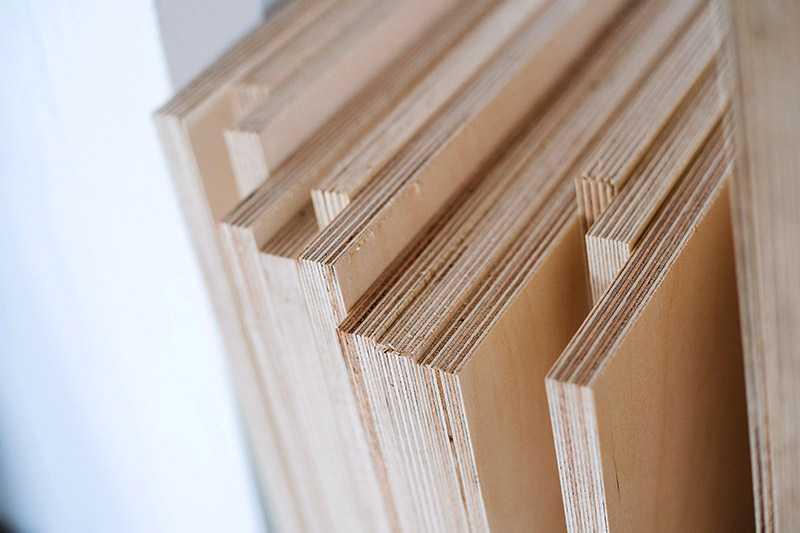 Para qué se usa la madera contrachapada