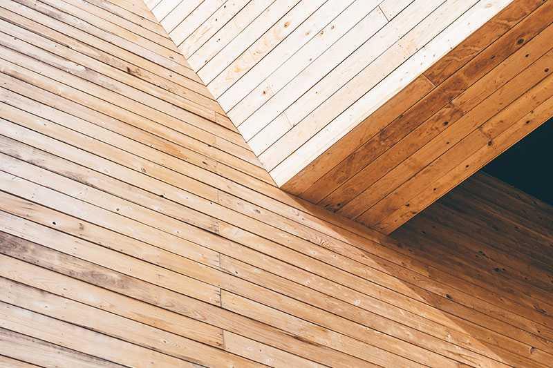 Revestimiento pared en madera